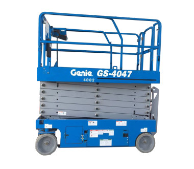 12米  Genie GS-4047 (自走式-剪刀式) OR (垂直升降式)